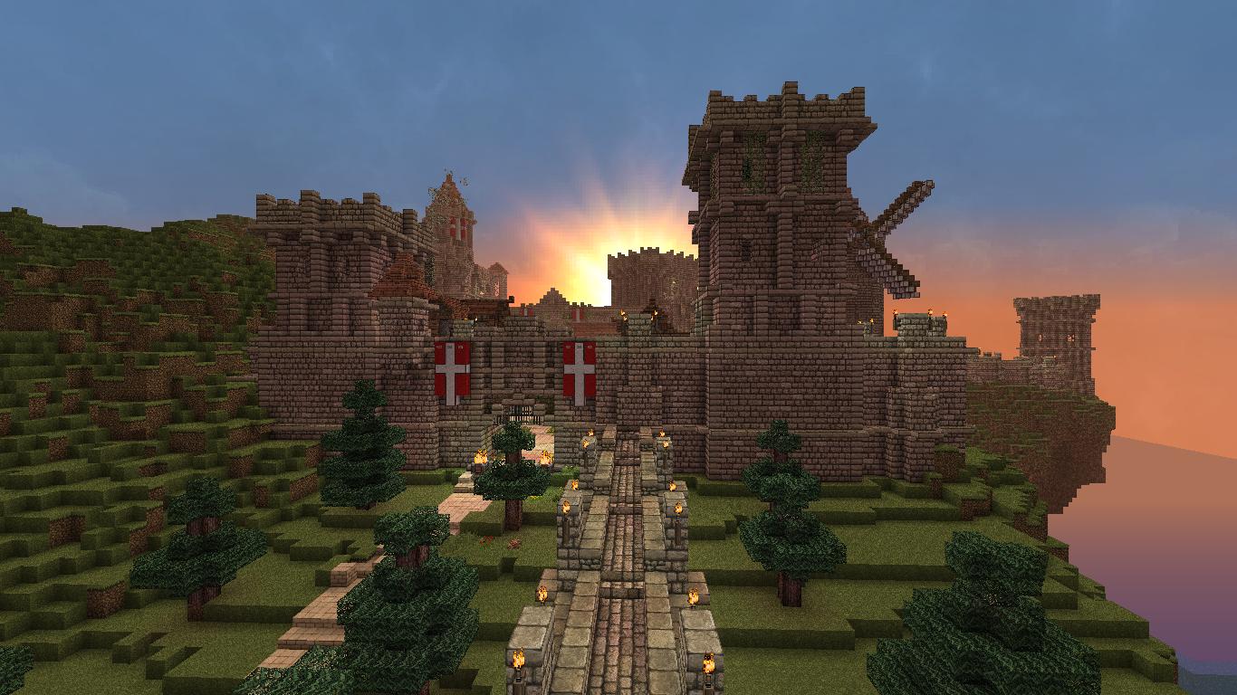 Ch teau minecraft - Chateau de minecraft ...